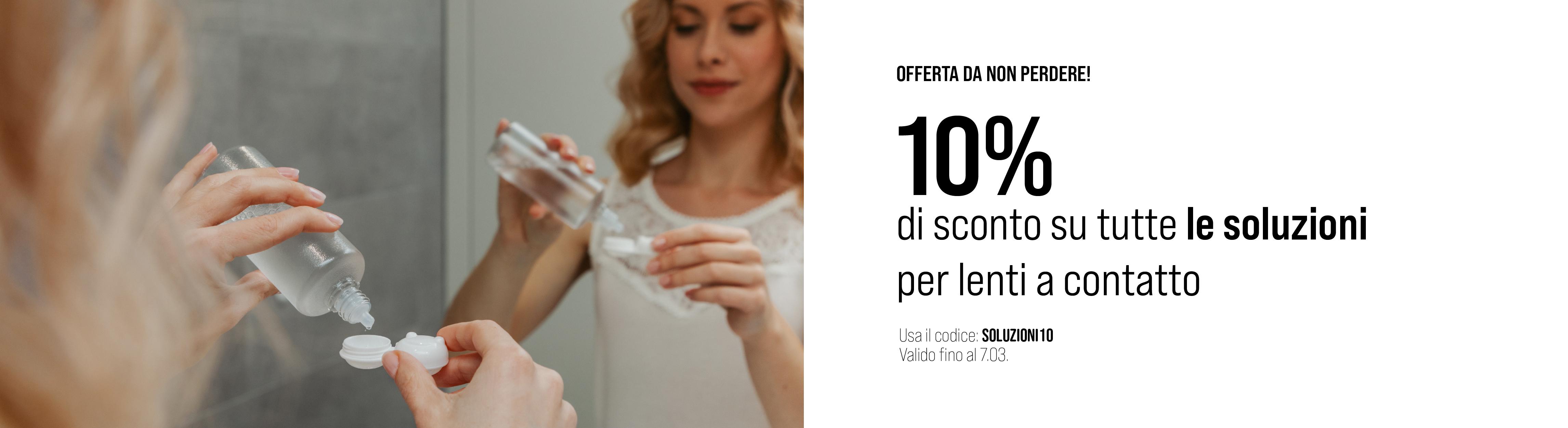 -10% su tutte le soluzioni